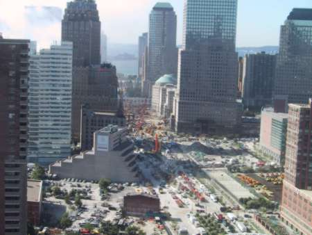 overview of World Trade Center